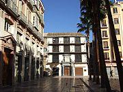 Plaza de la Constitucion, Malaga, España