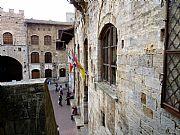 Piazza Duomo, San Gimignano, Italia