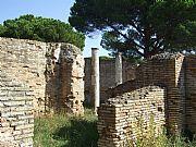 Ruinas de Ostia, Ostia Antica , Italia
