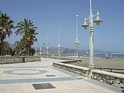 Paseo Maritimo de Poniente, Malaga, España