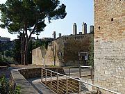 Via Folgore di San Gemignano, San Gimignano, Italia