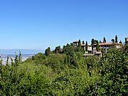 Via della Porta Marcoli , Volterra, Italia