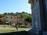 Explanada del Santuario de San Biagio, Montepulciano, Italia