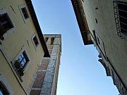 Via del Teatro, Montepulciano, Italia