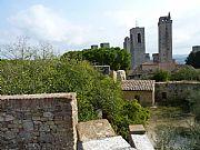 Via della Rocca , San Gimignano, Italia