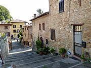Vicolo Forliano, San Gimignano, Italia