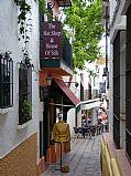 Calle Panaderia, Marbella, España