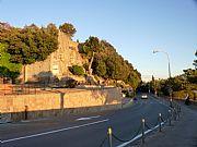 Viale dei Ponti , Volterra, Italia