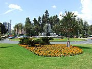 Plaza de Torrijos, Malaga, España