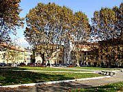 Piazza Martiri della Liberta, Pisa, Italia