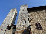 Torres dei Salvucci, San Gimignano, Italia