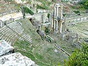 Via Lungo le Mura, Volterra, Italia