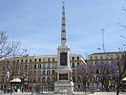 Foto de Malaga, Plaza de la Merced, España - Obelisco a Torrijos