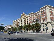 Plaza de la Marina, Malaga, España