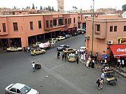 Avenue El Mohaidine, Marrakech, Marruecos