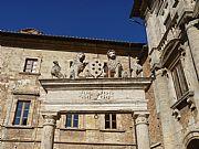 Piazza del Duomo , Montepulciano, Italia