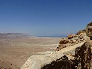 Muralla , Masada, Israel