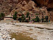 Carretera de Tinerhir a Imilchil, Gargantas del Todra, Marruecos