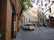 Via de Citta, Siena, Italia