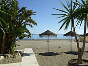 Playa de la Carihuela , Torremolinos, España