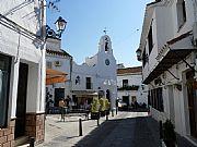 Plaza de Jesus Nazareno, Mijas, España