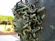 Foto de Villa Adriana, Italia - Perfil de Medusa