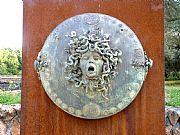 Foto de Villa Adriana, Italia - El escudo de Perseo
