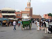Plaza de la Jemaa el - Fna , Marrakech, Marruecos
