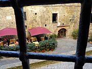 Piazza Minucci, Volterra, Italia