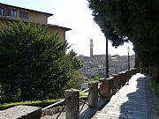 Piazza San Domenico, Siena, Italia