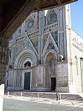 Plaza del Duomo, Orvieto, Italia