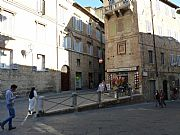 Via della Sapienza, Siena, Italia
