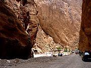 Carretera Tinerhir a Imilchil, Gargantas del Todra, Marruecos