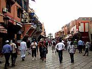 Rue Bab Agnanou, Marrakech, Marruecos