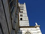 Piazza Iacopo della Quercia, Siena, Italia