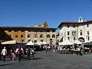 Piazza dei Cavalieri, Pisa, Italia