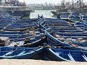 Puerto pesquero, Essauira, Marruecos