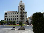 Rotonda del Marques de Larios, Malaga, España