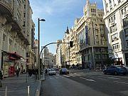 Gran Via, Madrid, España