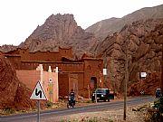 Carretera a Bou Tharar, Gargantas del Dades, Marruecos