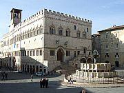 Piazza 4 Novembre, Perugia, Italia