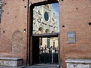Piazza del Duomo, Siena, Italia
