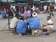 Plaza de la Jemaa el-Fna , Marrakech, Marruecos