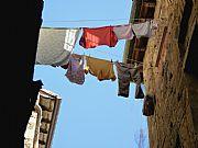 Via Porta all Arco, Volterra, Italia