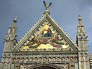 Fachada del Duomo, Siena, Italia