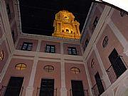 Patio del Palacio Episcopal, Malaga, España
