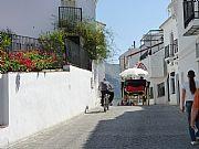 Calle del centro, Mijas, España