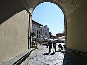 Arco del Gualani, Pisa, Italia