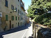 Via di Sotto, Volterra, Italia