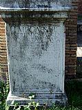Foto de Ostia Antica, Palestra, Italia - Dedicatoria a Septimio Severo